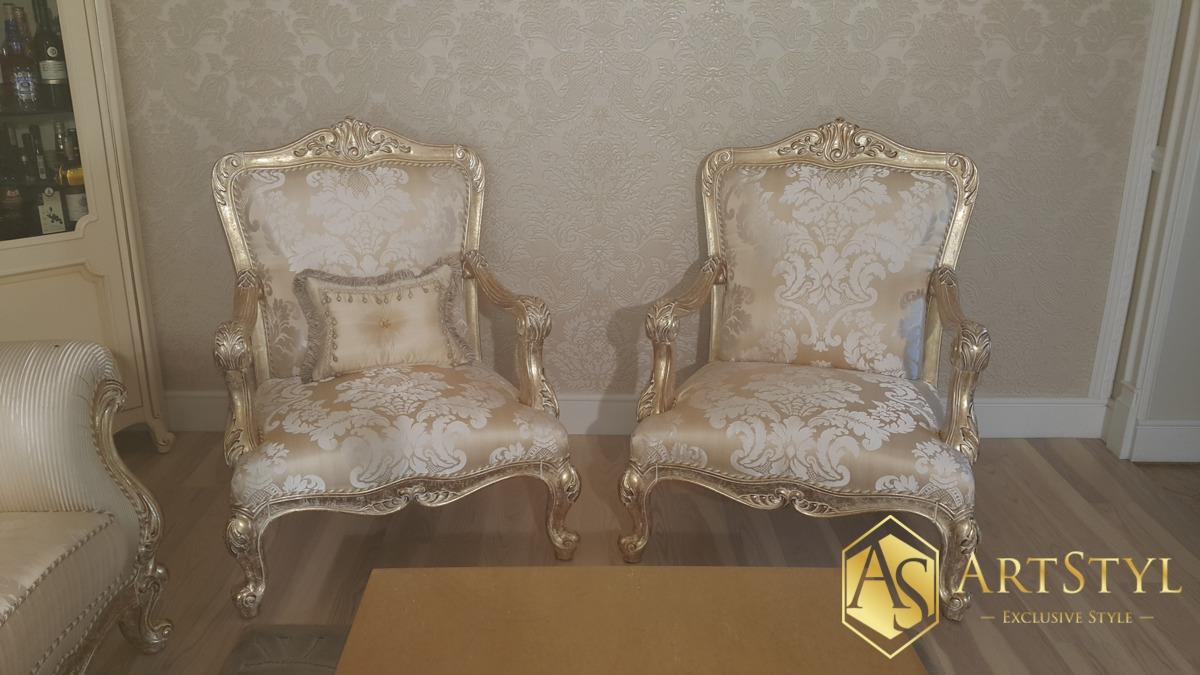 stylowe fotele wypoczynkowe Saphir