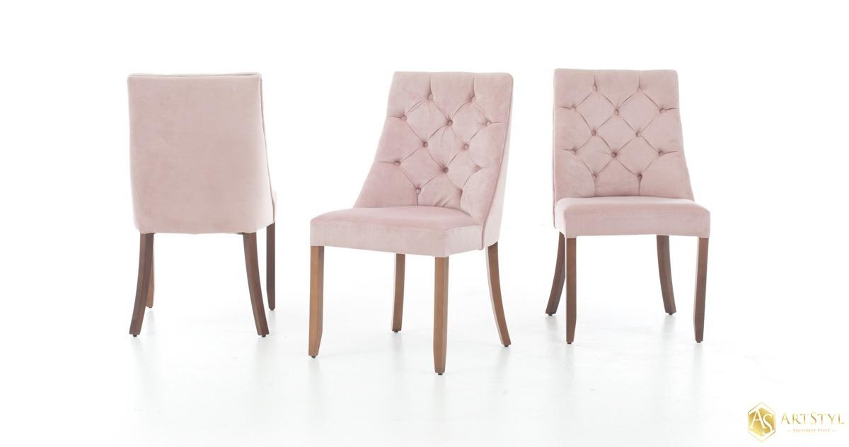 Poważnie Krzesło tapicerowane pikowane Eva BY97