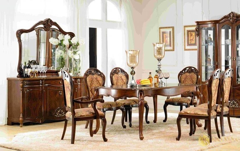 stoły i krzesła do salonu stylowe