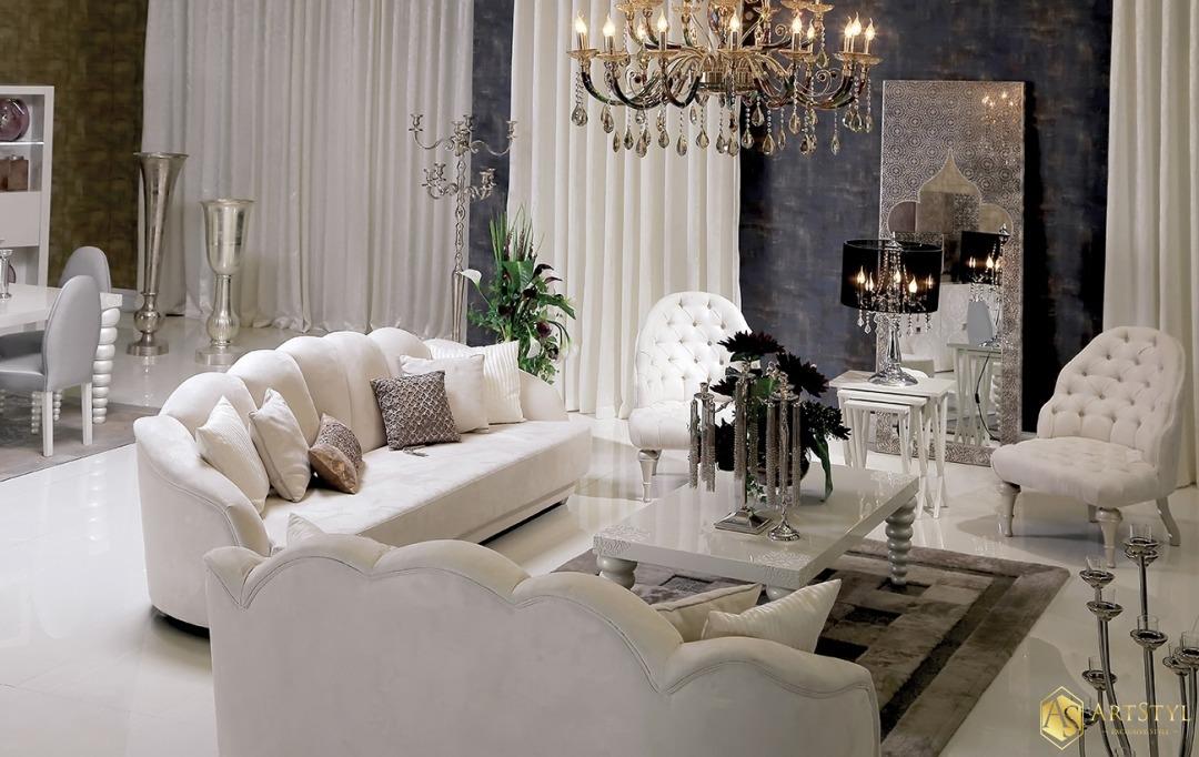 Zestaw Wypoczynkowy Do Salonu Monet